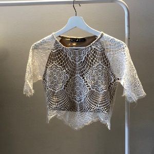 For Love and Lemons top - size Small